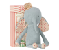 Preview: Maileg Elefant Circus Friends mit Hut blau blue