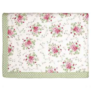 Green Gate Quilt Decke Tagesdecke Mary white 140x220cm