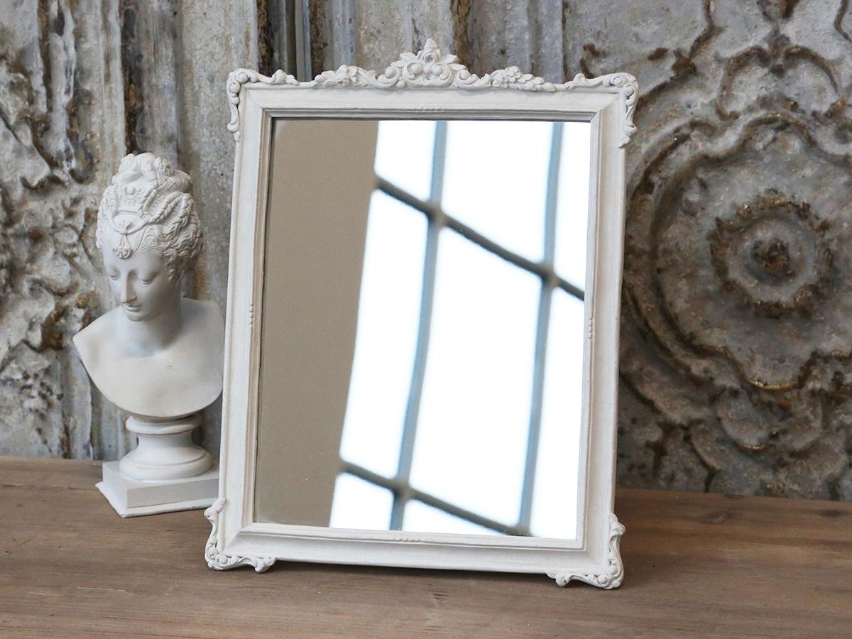 Sias decodreams chic antique spiegel mit rosenkante for Spiegel zum aufstellen