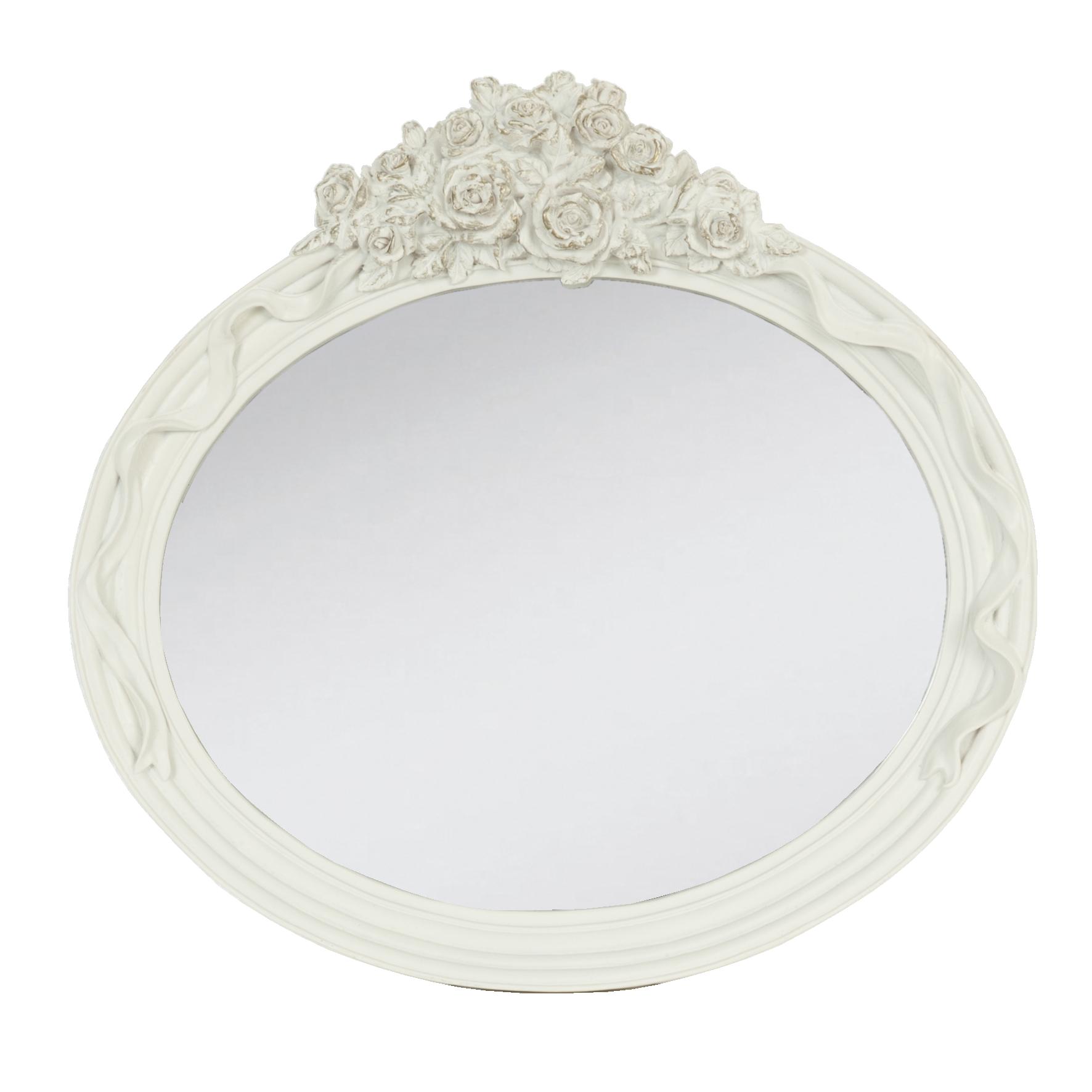 sias decodreams clayre eef spiegel wei oval wandspiegel. Black Bedroom Furniture Sets. Home Design Ideas
