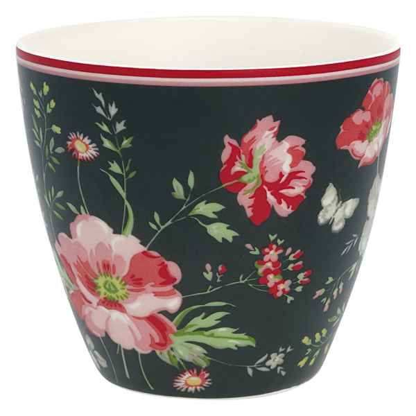 Green Gate Latte Cup Becher Tasse Meadow black